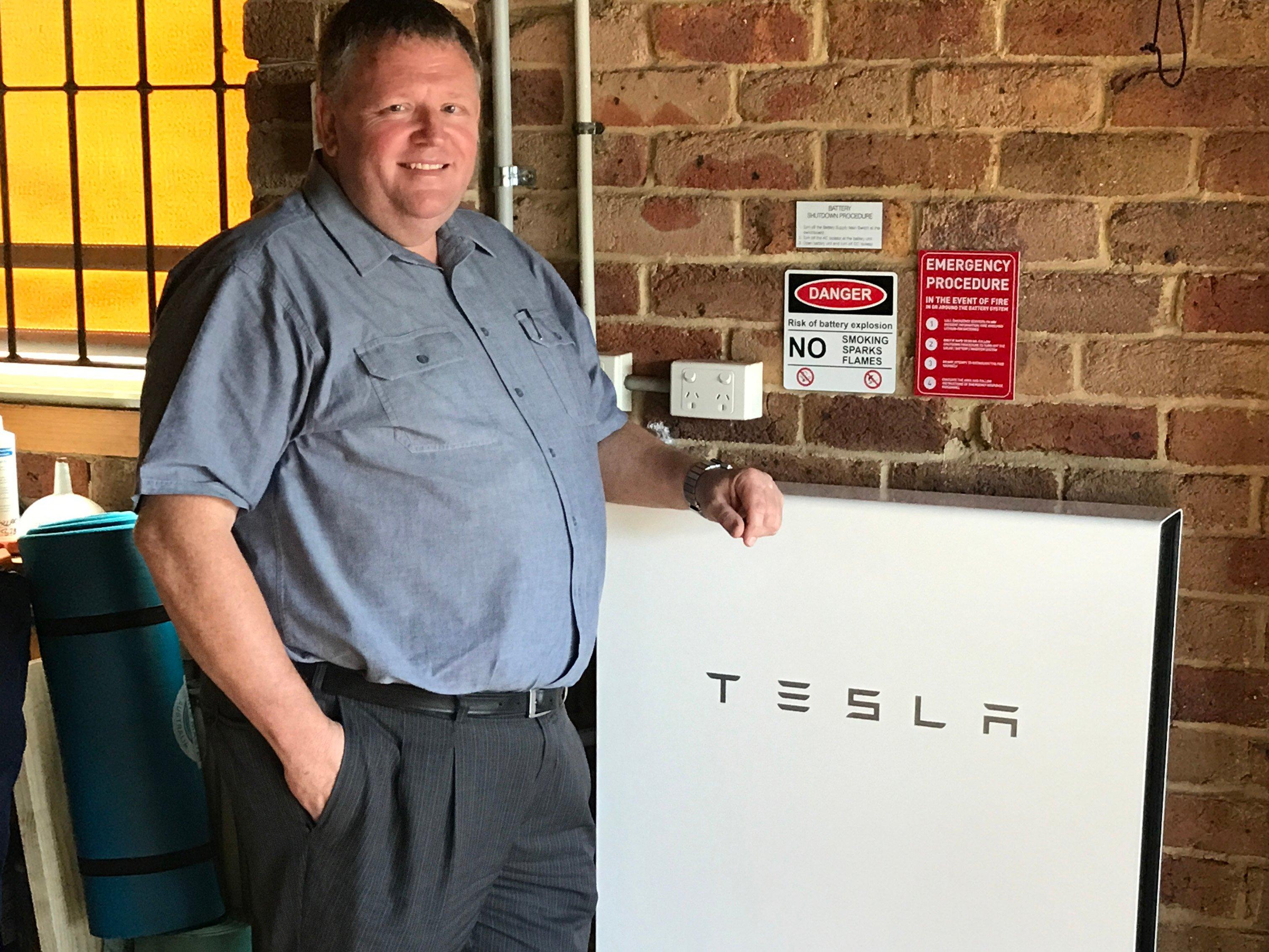 Solaray Energy Install Tesla Powerwall 2